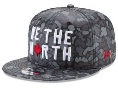 Toronto Raptors New Era NBA We The North Collection Camo 9TWENTY Strapback Cap