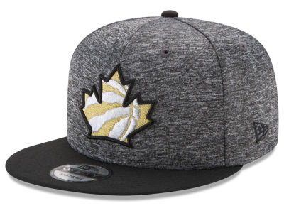 Toronto Raptors New Era NBA We The North Collection Metallic 9FIFTY Snapback Cap