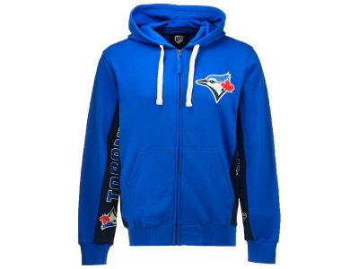 Toronto Blue Jays G-III Sports MLB Men's Hands High On-Deck Full Zip Hoodie