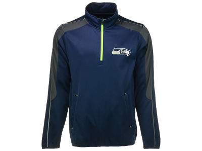 Seattle Seahawks GIII NFL Men's Synergy 1/2 Zip Pullover Jacket
