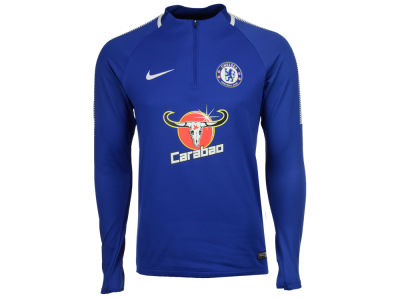 Chelsea Nike Men's Club Team Drill Top 1/4 Zip