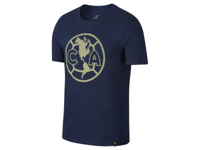 Club America Nike Men's Club Team Crest Logo T-Shirt