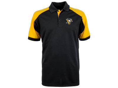 Pittsburgh Penguins Antigua NHL Men's Century Polo Shirt
