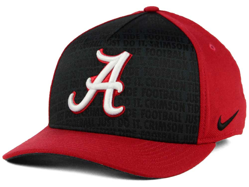 separation shoes 0670a 0a019 ... usa alabama crimson tide nike ncaa just do it swooshflex cap lids 66c03  a4098
