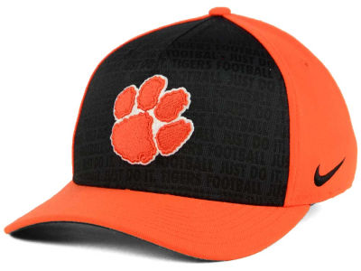 Clemson Tigers Nike NCAA Just Do It Swooshflex Cap