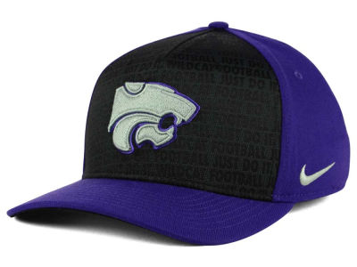Kansas State Wildcats Nike NCAA Just Do It Swooshflex Cap