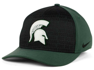Michigan State Spartans Nike NCAA Just Do It Swooshflex Cap