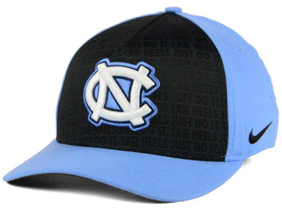 North Carolina Tar Heels Nike NCAA Just Do It Swooshflex Cap