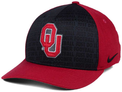 Oklahoma Sooners Nike NCAA Just Do It Swooshflex Cap