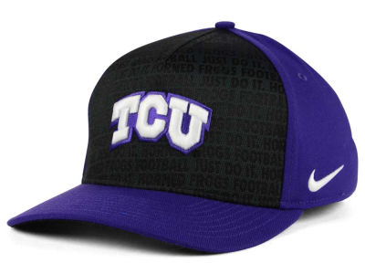 Texas Christian Horned Frogs Nike NCAA Just Do It Swooshflex Cap