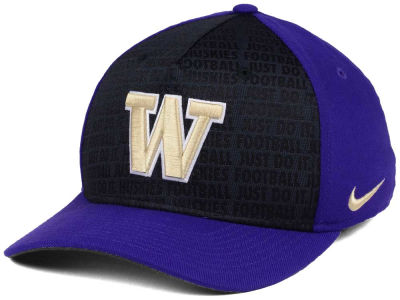 Washington Huskies Nike NCAA Just Do It Swooshflex Cap