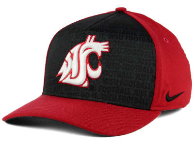 Washington State Cougars Nike NCAA Just Do It Swooshflex Cap