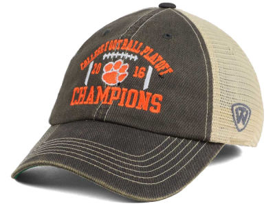 Clemson Tigers Top of the World NCAA National Champs Secondary Mesh Adjustable Cap