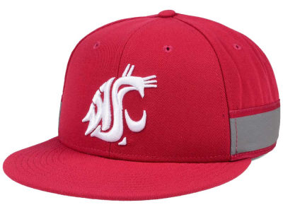 Washington State Cougars Nike NCAA True Woven Stripe Snapback Cap