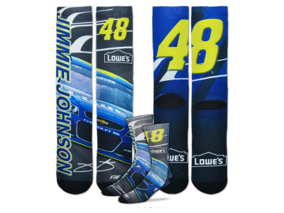 Jimmie Johnson For Bare Feet Driver Sublimated Socks