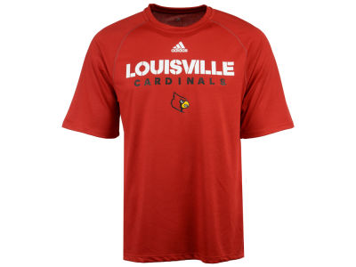 Louisville Cardinals adidas NCAA Men's Sideline Climalite T-Shirt