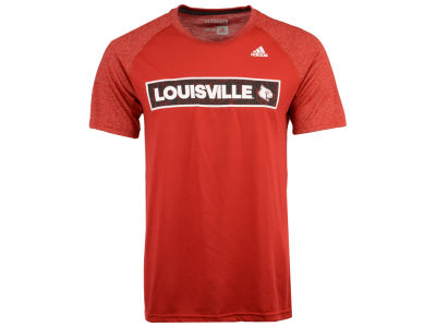 Louisville Cardinals adidas NCAA Men's White Noise Scoreboard T-Shirt