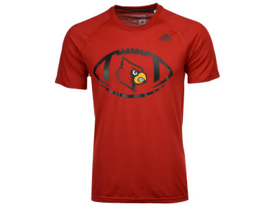 Louisville Cardinals adidas NCAA Men's Pigskin T-Shirt