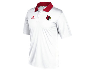 Louisville Cardinals adidas 2017 NCAA Men's Coaches Polo