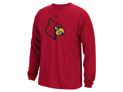 Louisville Cardinals adidas NCAA Men's Sideline Spine Long Sleeve T-Shirt