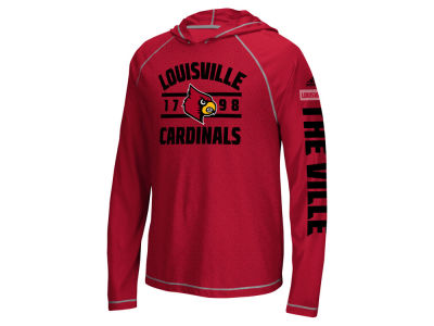 Louisville Cardinals adidas NCAA Men's Schooled Sleeve Hoodie