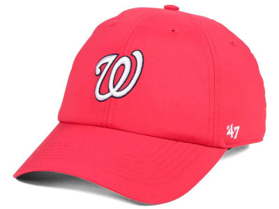 Washington Nationals '47 MLB Repetition CLEAN UP Cap