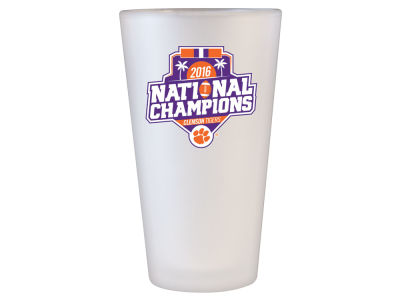 Clemson Tigers Wincraft Frosted Pint Glass