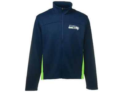 Seattle Seahawks GIII NFL Full Zip Ribbed Jacket