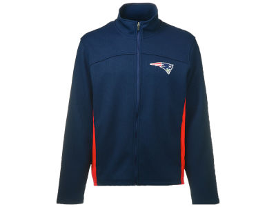 New England Patriots GIII NFL Full Zip Ribbed Jacket