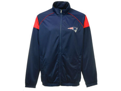 New England Patriots G-III Sports NFL Full Zip Track Jacket