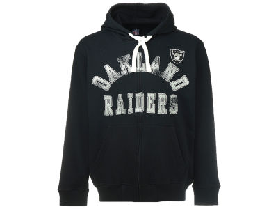 Oakland Raiders G-III Sports NFL Full Zip Script Hoodie
