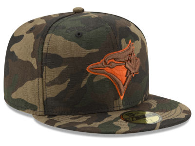 Toronto Blue Jays New Era MLB Camo On Canvas 59FIFTY Cap