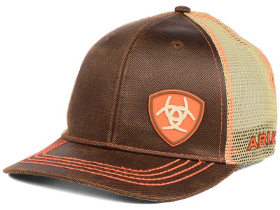 Ariat Low Crown Offset Logo Snap Cap
