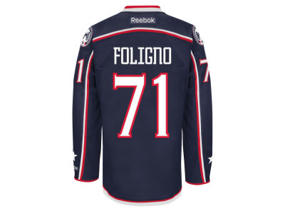 Columbus Blue Jackets Nick Foligno  Reebok NHL Men's Premier Player Jersey