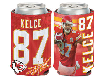 Kansas City Chiefs Travis Kelce Can Coozie