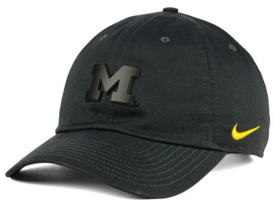 Michigan Wolverines Nike NCAA Matte Metal Cap