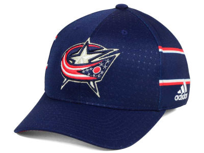 Columbus Blue Jackets adidas 2017 NHL Draft Structured Flex Cap
