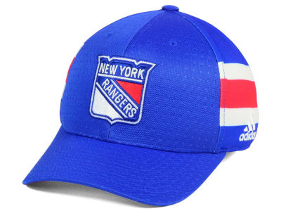 New York Rangers adidas 2017 NHL Draft Structured Flex Cap