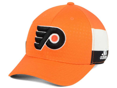 Philadelphia Flyers adidas 2017 NHL Draft Structured Flex Cap