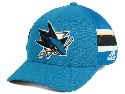San Jose Sharks adidas 2017 NHL Draft Structured Flex Cap