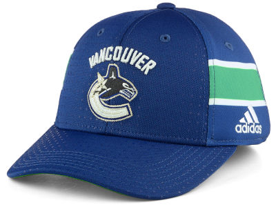 Vancouver Canucks adidas 2017 NHL Draft Structured Flex Cap