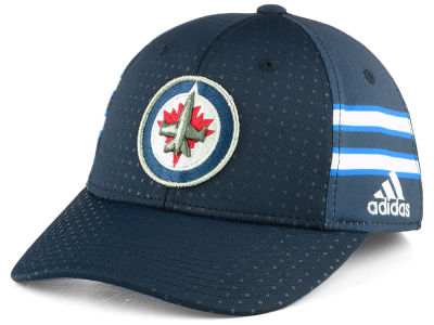 Winnipeg Jets adidas 2017 NHL Draft Structured Flex Cap
