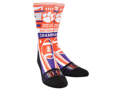 Clemson Tigers Rock 'Em Stripes Champ Sock
