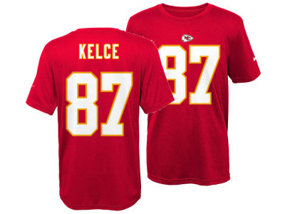 Kansas City Chiefs Travis Kelce Nike NFL Youth Pride Name and Number T-Shirt