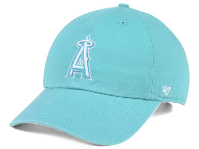 Los Angeles Angels '47 MLB Lagoon CLEAN UP Cap