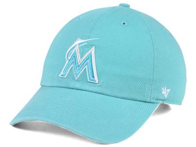 Miami Marlins '47 MLB Lagoon CLEAN UP Cap