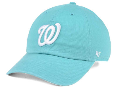 Washington Nationals '47 MLB Lagoon CLEAN UP Cap