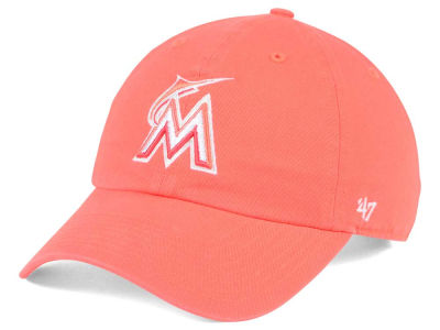 Miami Marlins '47 MLB Grapefruit '47 CLEAN UP Cap