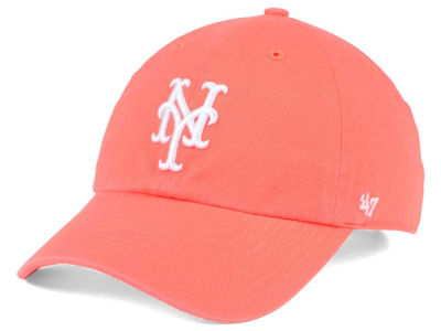 New York Mets '47 MLB Grapefruit '47 CLEAN UP Cap