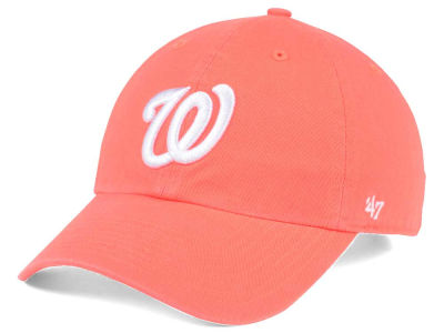 Washington Nationals '47 MLB Grapefruit '47 CLEAN UP Cap